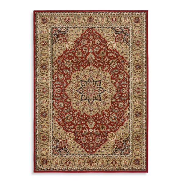 Shaw Inspired Collection Antique Manor Red Rugs Bed Bath Beyond