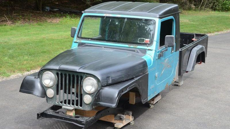 It Just Got Easier To Build Your Own Jeep Pickup Jeep Trailers By Dinoot Jeep Pickup Jeep Trailer Jeep Cj
