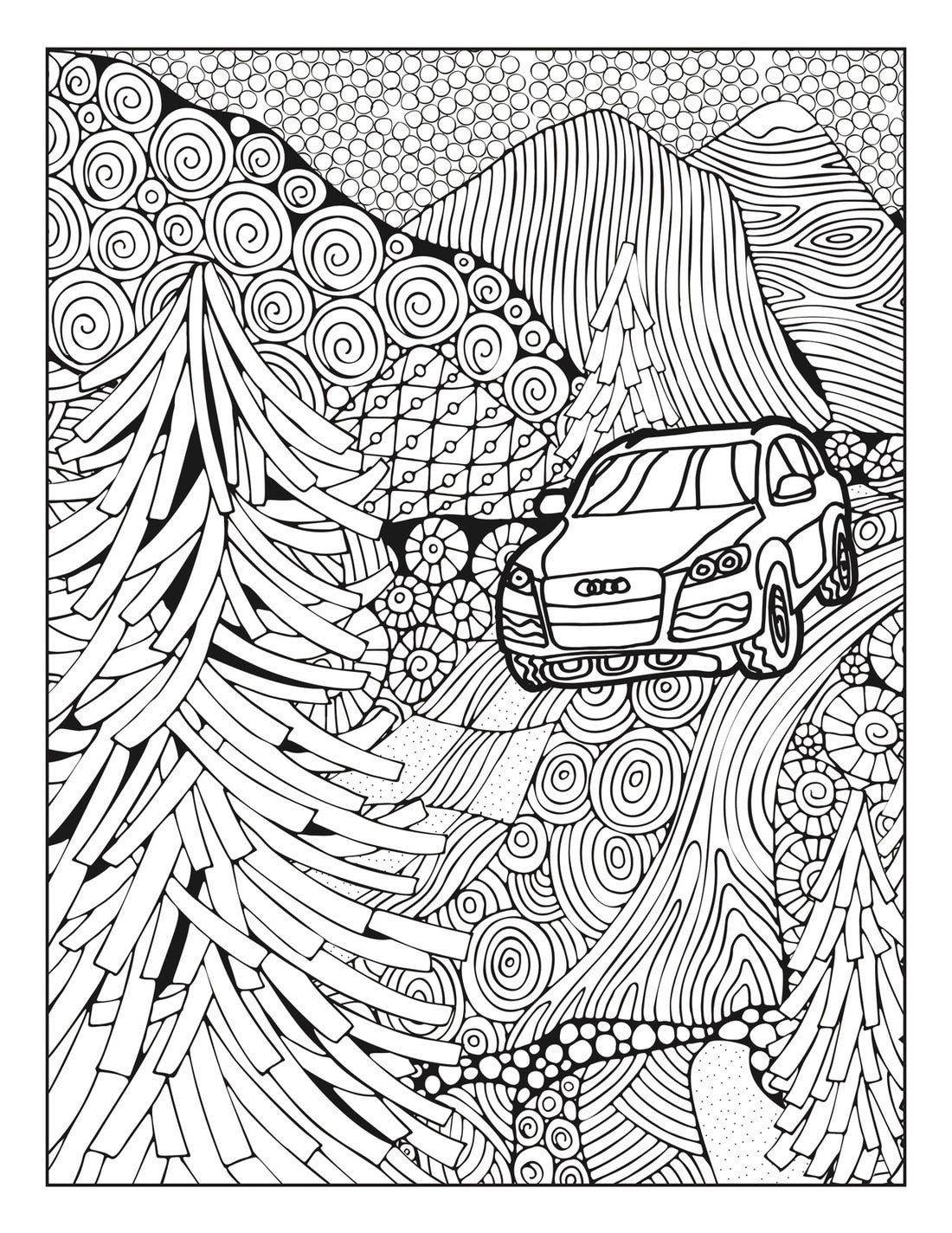 Pictures To Coloring Pages Audi And Mercedes Release Coloring Pages To Battle In 2020 Dinosaur Coloring Pages Cars Coloring Pages Coloring Book Pages