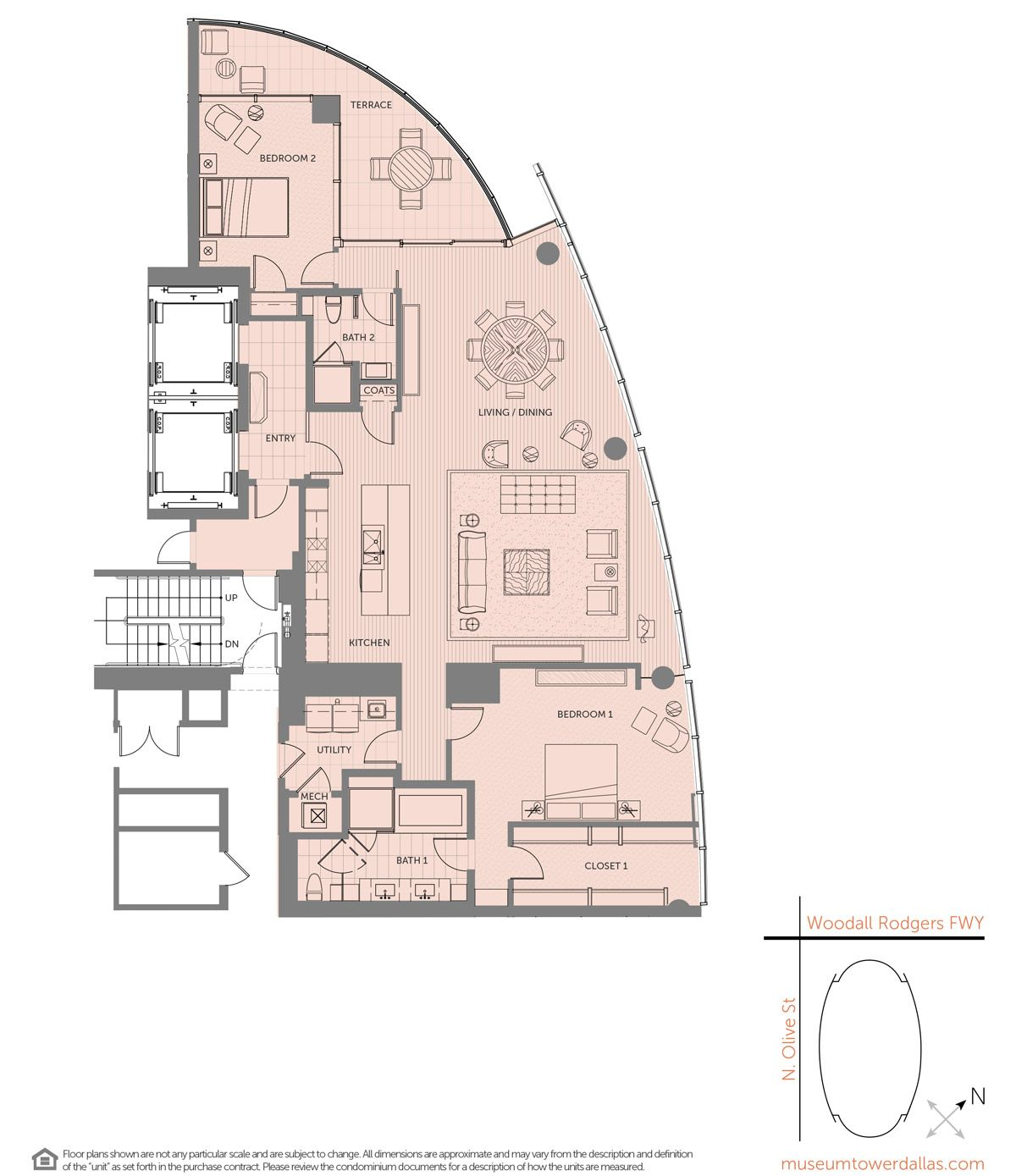 Museum Tower Offers A Variety Of Unique Downtown Dallas Condominium Floorplans Ranging From 1 800 Sq Ft To 9 300 Sq Floor Plans Condo Floor Plans How To Plan