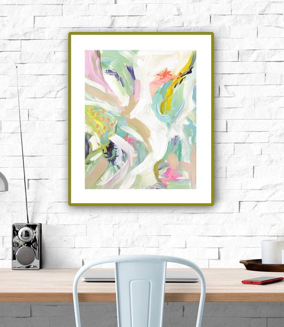 Items similar to Modern Art Print , Abstract Print