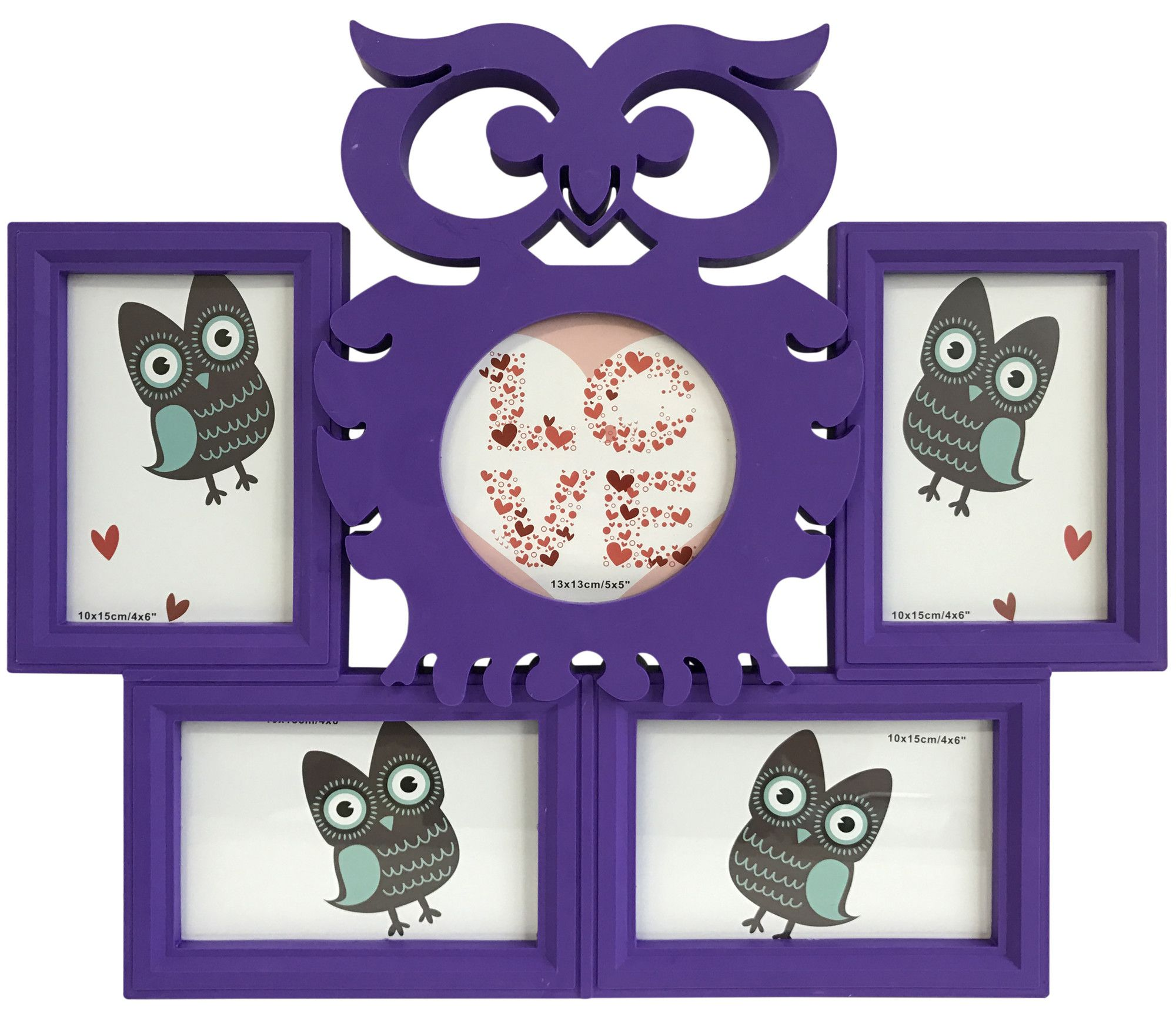 Owl Collage Picture Frame   Products   Pinterest