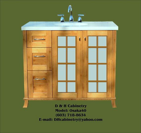 40 41 42 43 44 45 46 Modern Bamboo Bathroom Vanity