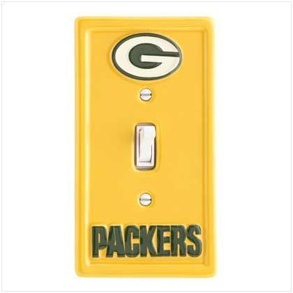 NFL Green Bay Packers Switchplate - Style 37322 by Gift Warehouse,