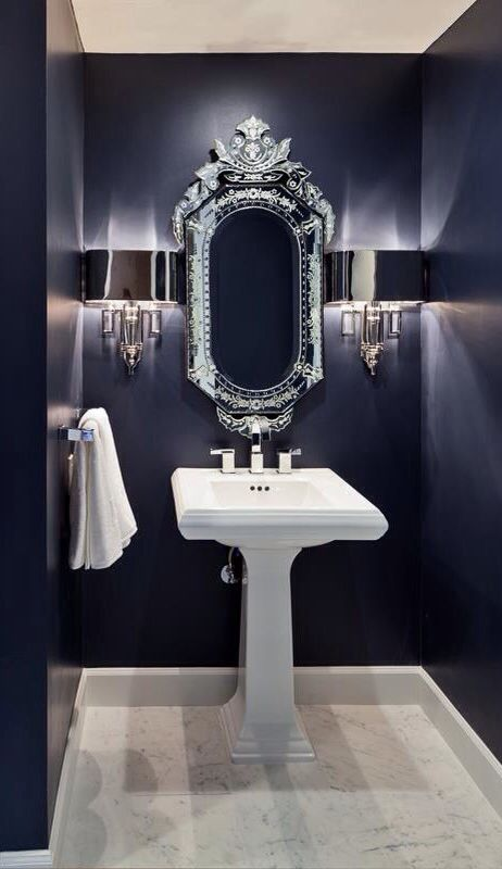 44 Absolutely Stunning Dark And Moody Bathrooms Contemporary