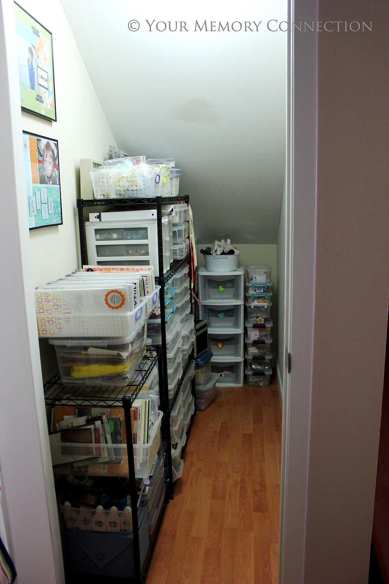 under stair closet organization ideas