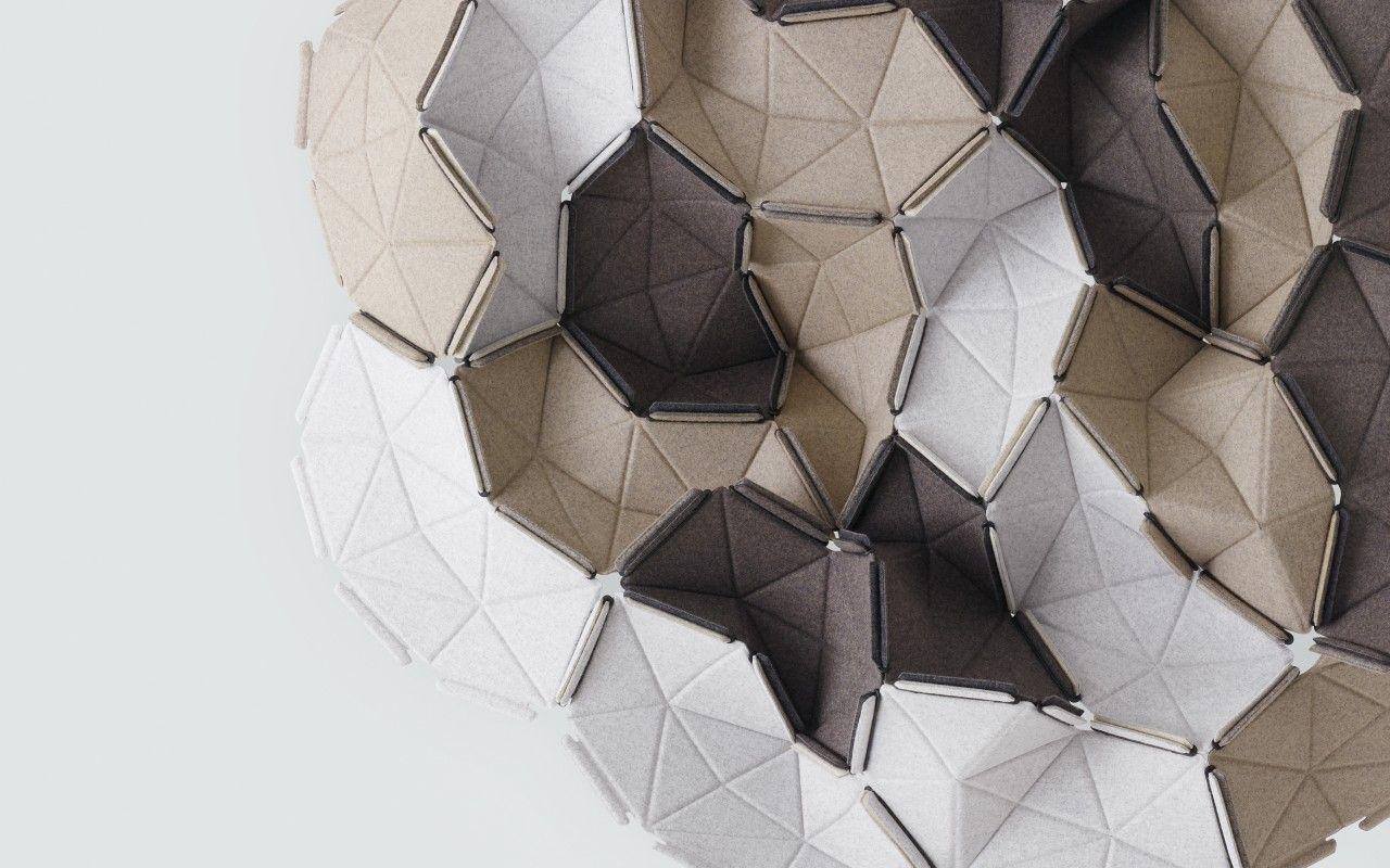 Clouds Kvadrat Acoustic Fabric Texture Design Acoustic Wall Panels