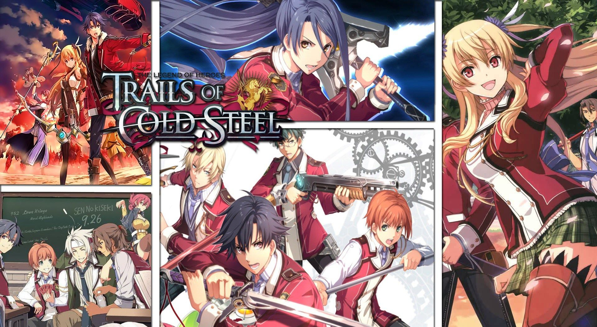 The Legend Of Heroes Trails Of Cold Steel Wallpaper Hd