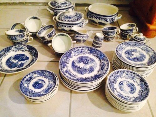 Dishes Old England Made In Holland Cambridge Blue In North Rhine Westphalia Greven Ebay Classifieds Tableware Decorative Plates Plates