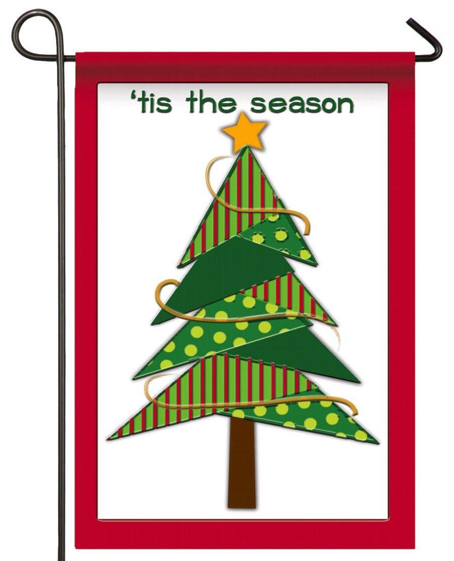 IAmEricas Flags - Felt Christmas Tree Decorative Garden Flag, $18.00 ...