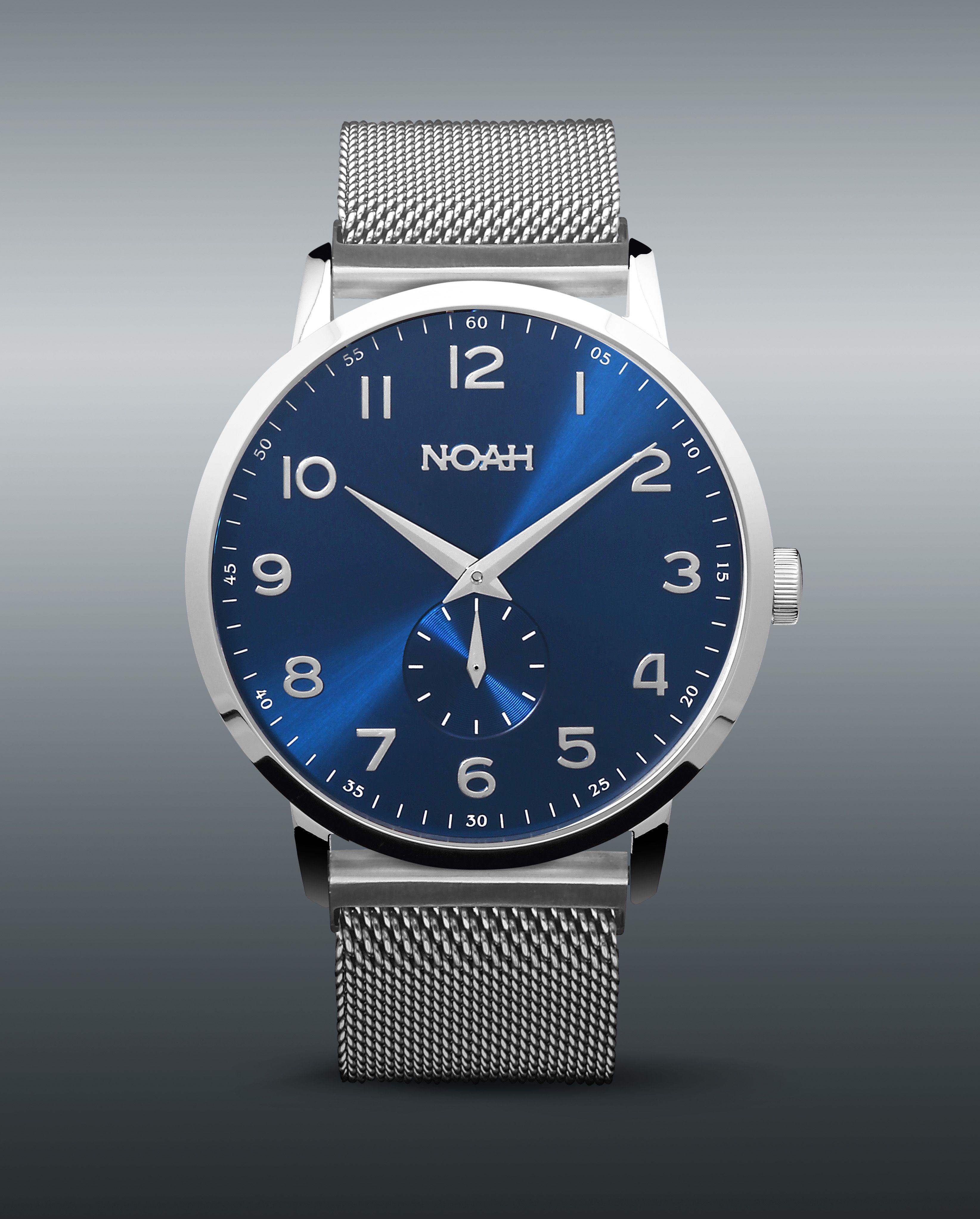 Noah Slimline Horloges Met Ultra Platte Kasten Diameter 43