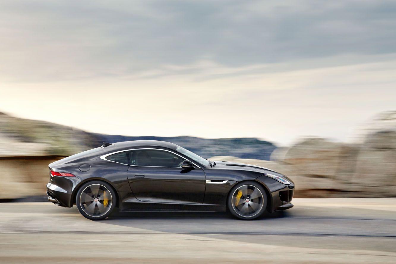 The jaguar f type coupe