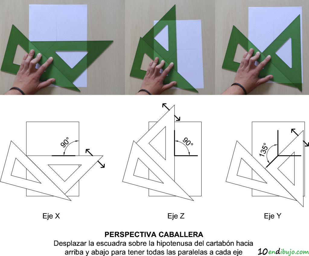 7 Pasos Llenos De Trucos Para Resolver Una Pieza En Perspectiva Caballera E Isometrica A Partir De Sus Clases De Dibujo Ejercicios De Dibujo Tecnicas De Dibujo