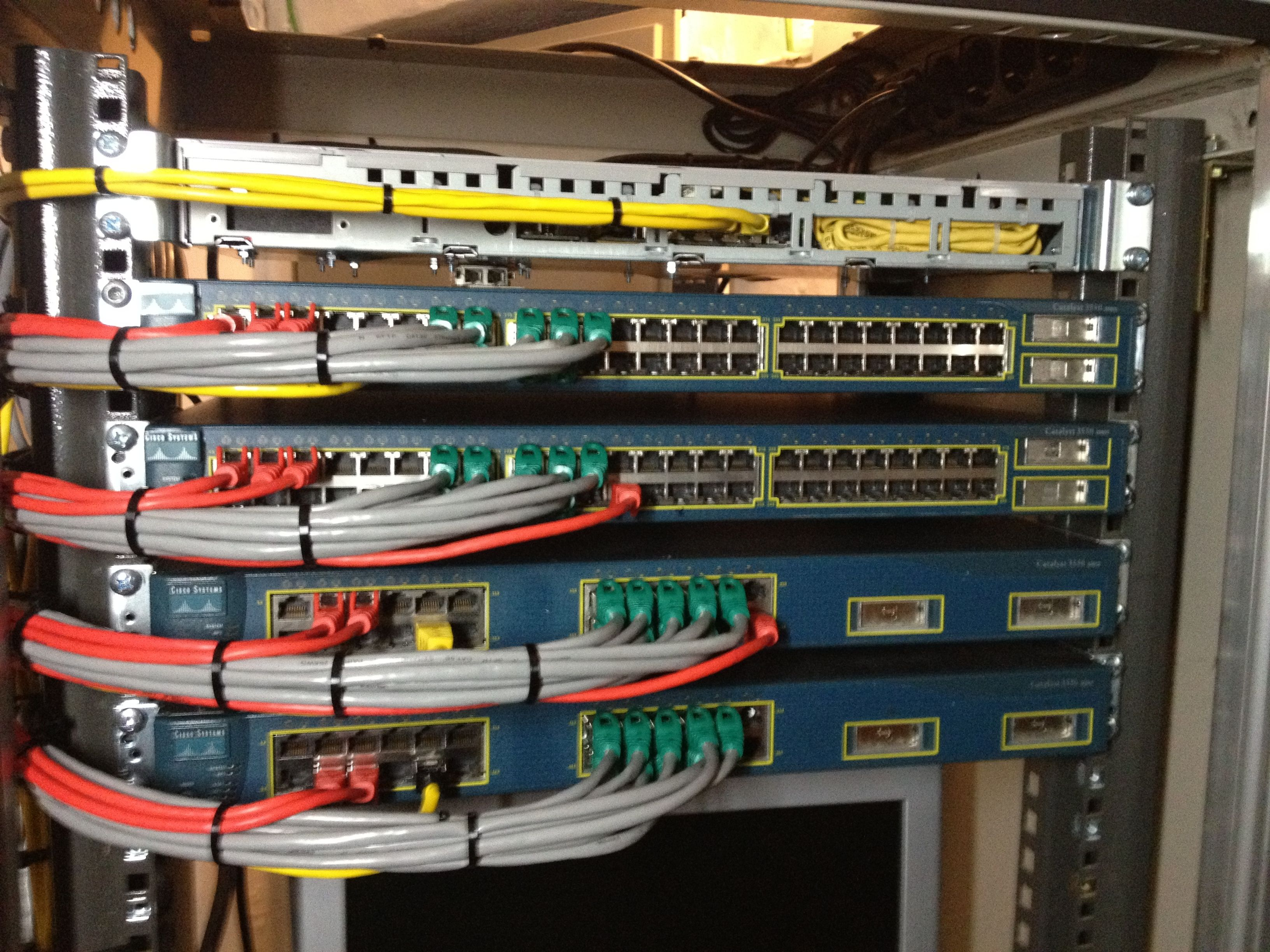 How to build a CCIE rack with GNS3 / dynamips — Part 4, connect the switches  to the GNS3 server