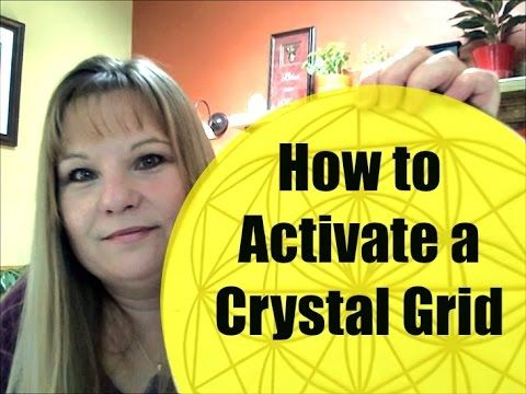 How to Activate a Crystal Grid | Crystal grid, Crystals ...