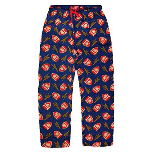 b1f3c89fd8 Arsenal FC Official Football Gift Mens Lounge Pants Pajama Bottoms Navy  Small Arsenal F.C. http: