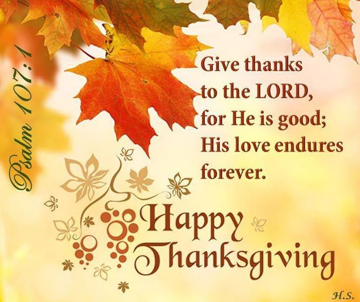 Happy Thanksgiving! | Thanksgiving verses, Happy thanksgiving images, Thanksgiving  quotes