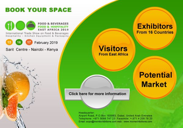Book your space at! Food & Beverages - Food & Hospitality