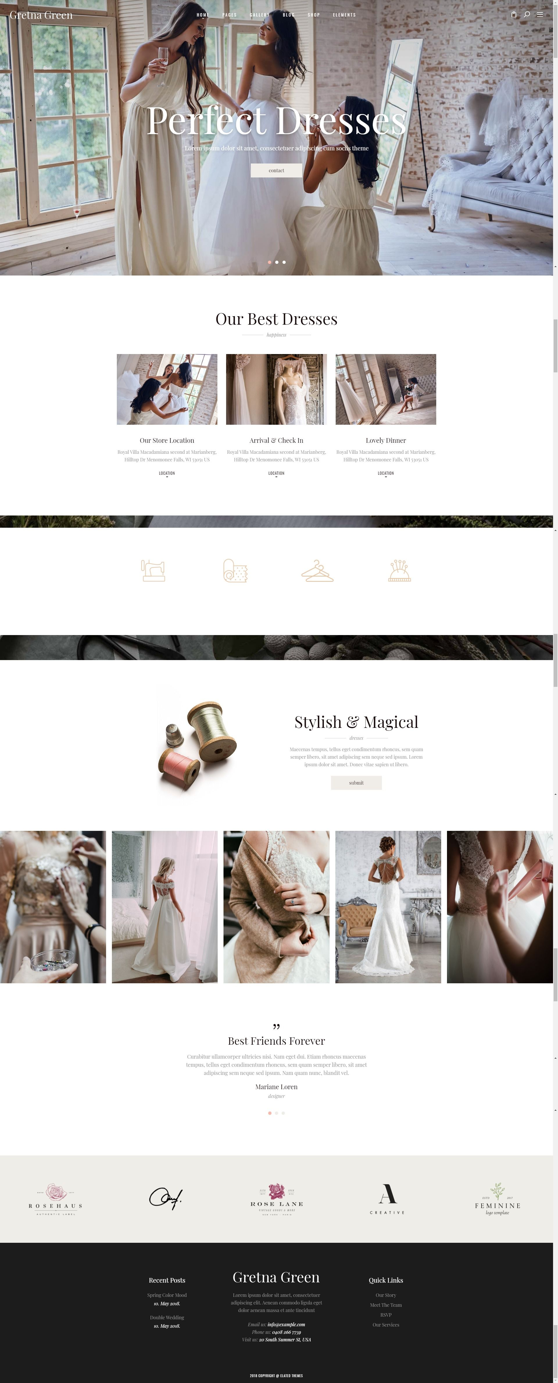 Gretna Green Theme For Wedding Planners And Celebrations Stylelib In 2020 Gretna Green Wedding Gretna Green Wedding Planner