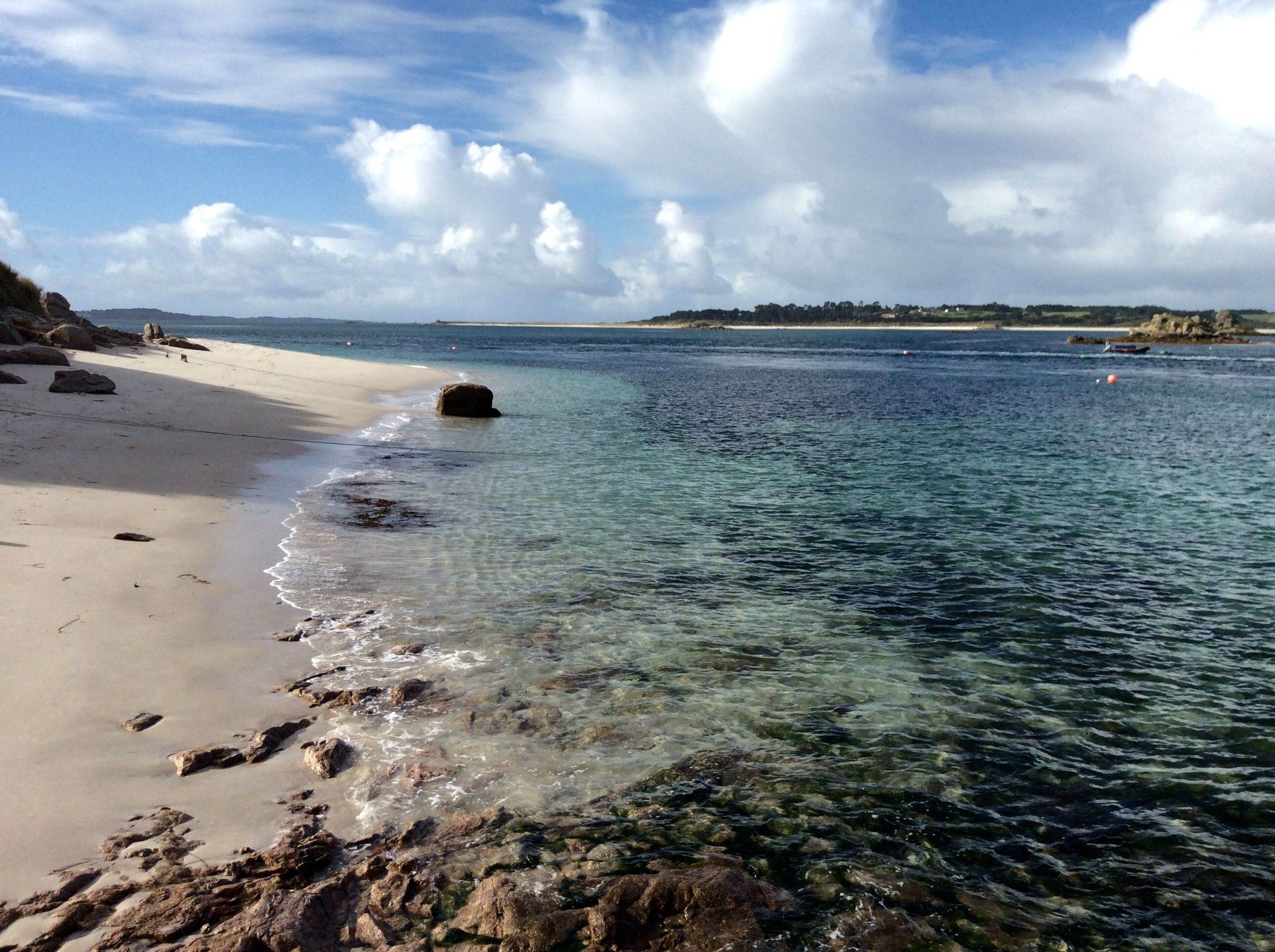 From Karma Hotel the #beach outside the window. St Martins island - Isles of Scilly Dreamy, pure, a paradise!