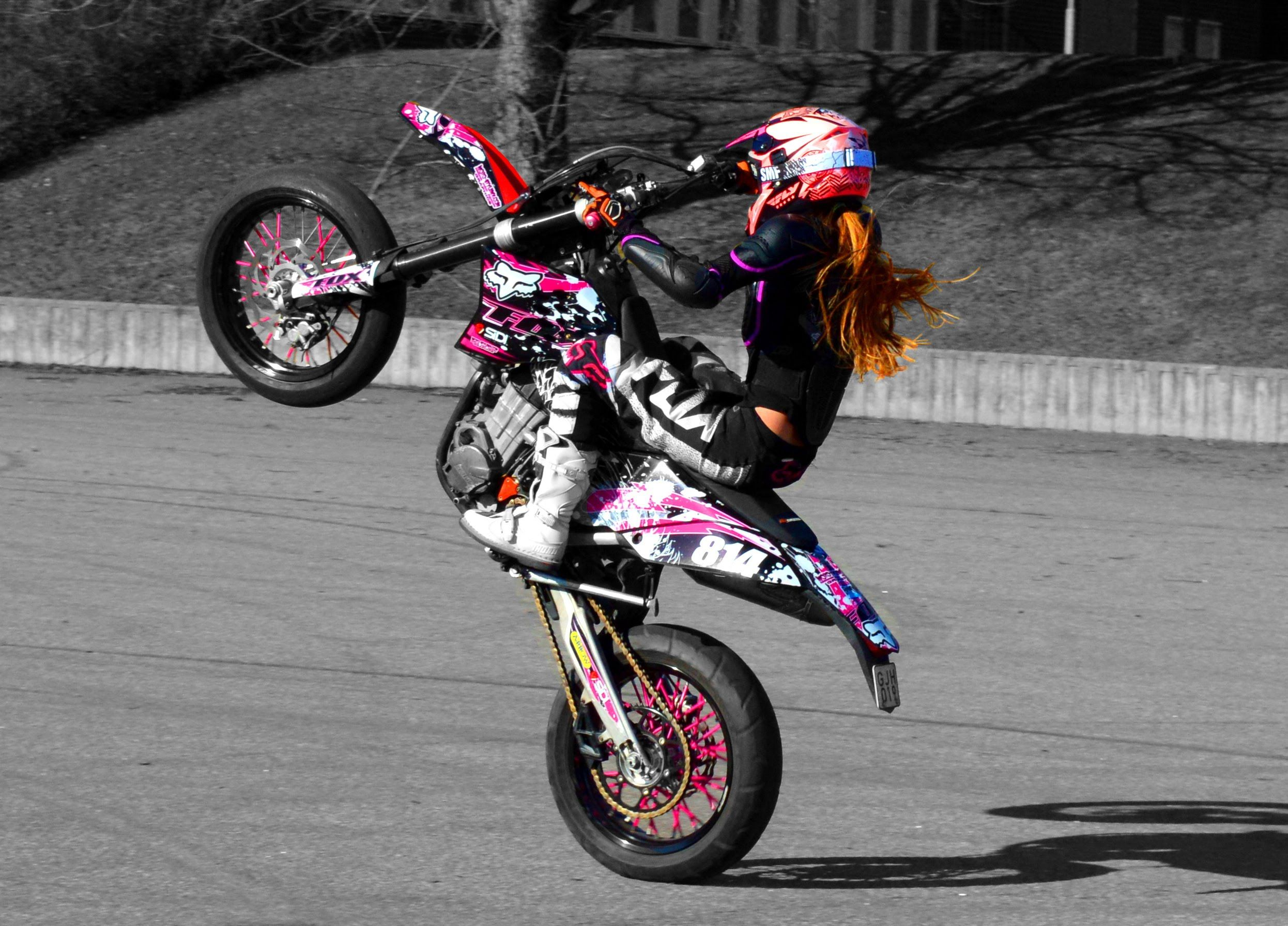 Pin By Moto-Stylemx On Our Graphics Kits In The Wild  Motorcycle, Biker Girl, Lady Biker-1440