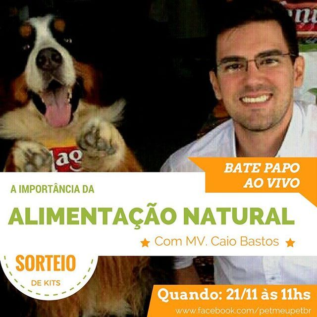 Participe do Ao Vivo no nosso facebook e concorra a sorteio de Kits! Ebaaa!! ❤️❤️Agende pq eh na Segunda Feira!   #petmeupet  #amoanimais  #cachorro  #gato  #amogato  #amocachorro  #formulanatural  #adimax #aovivo
