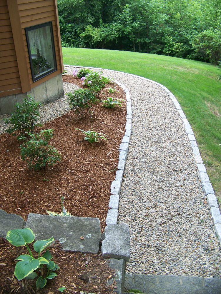 crushed stone with cobbles jpg 751 1000 stone backyard on extraordinary garden stone pathway ideas to copy id=23146