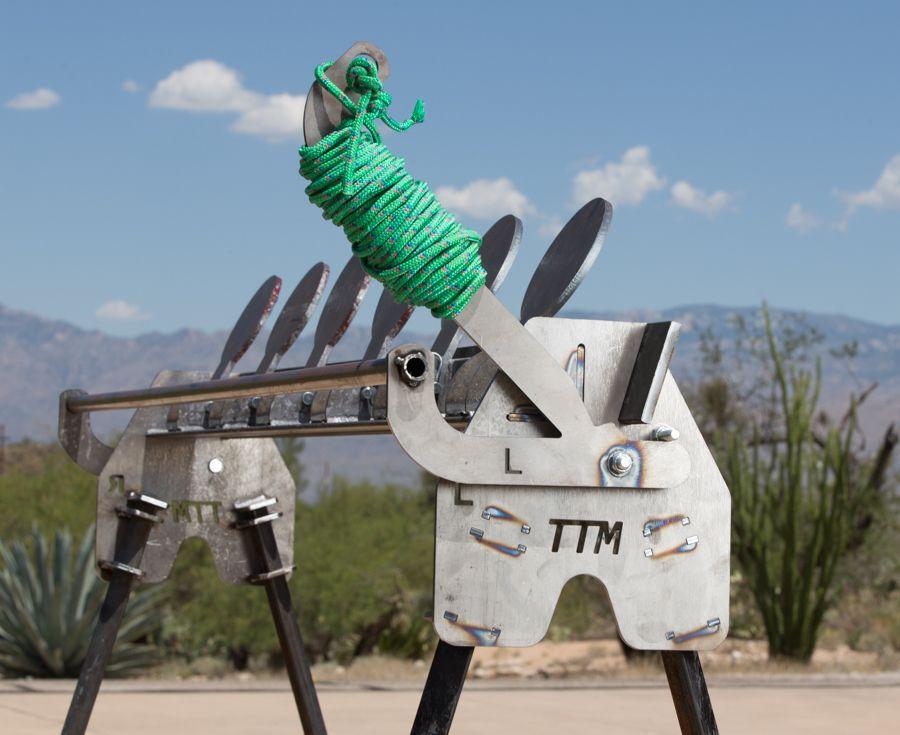 The Target Man™ AR500 Dueling Tree Target Kit