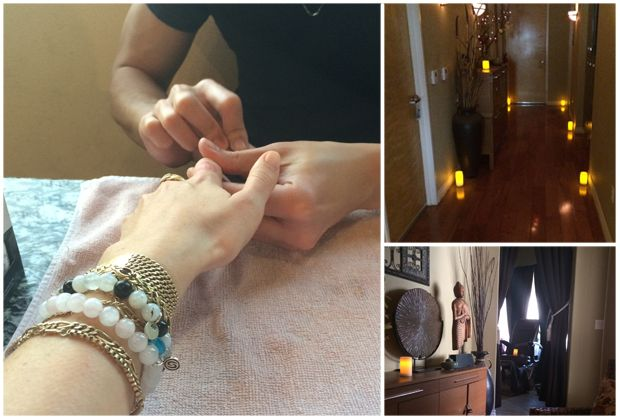 A bit of pampering in Claremont, CA.