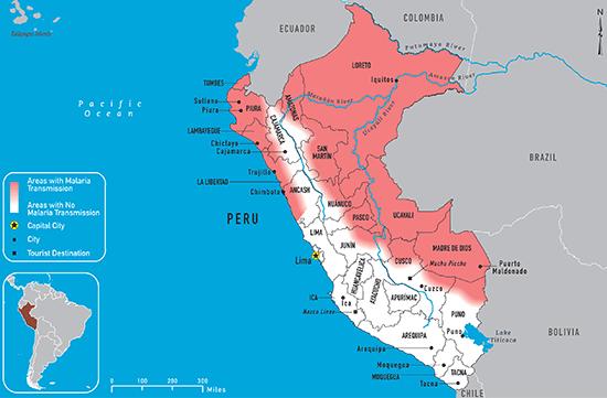 Info about malaria in Peru