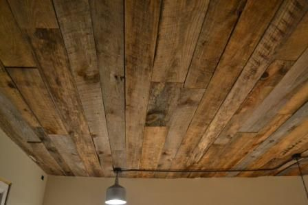 basement wood ceiling ideas.  Wood Wood Ceiling Diy Super Cool However I Donu0027t Know Where I Would Place It   Hm Intended Basement Ceiling Ideas