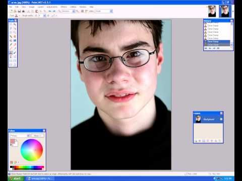 How to smooth out skin using paint.net. Blur -->fragment ... | 480 x 360 jpeg 17kB