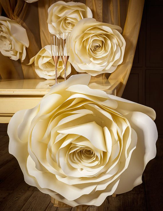 Large paper flower paper rose paper flower wall oversized paper large paper flower paper rose paper flower wall oversized paper flower wedding photobooth backdrop wedding decoration aisle decor paper roses and mightylinksfo