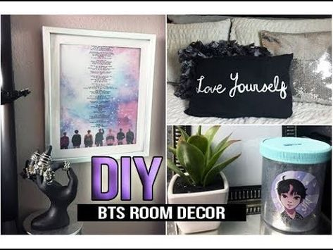 ►DIY KPOP BTS DNA.LOVE YOURSELF ROOM DECOR -   4 room decor DIY kpop