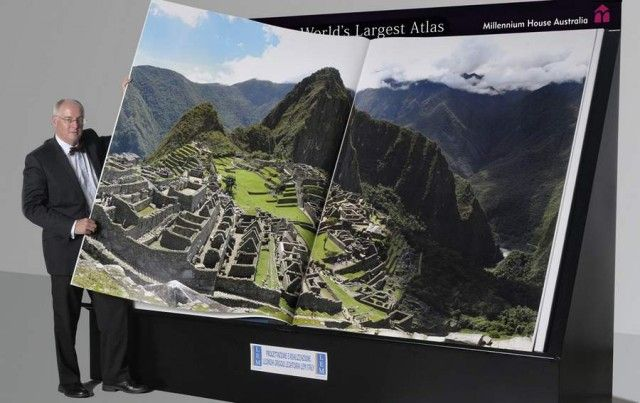 Biggest atlas in world world 1 art pages and world biggest atlas in world books a millionbig gumiabroncs Image collections