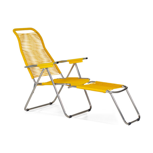 Spaghetti Outdoor Lounge Chair In Color Yellow Lounge Chair Outdoor Outdoor Lounge Chair