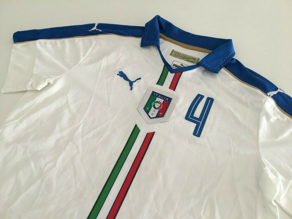 Italy 2016 Away Football Shirt L Soccer Jersey Camiseta Training Maglia Calcio 4 Ebay In 2020 Vintage Football Shirts Football Shirts Soccer Jersey