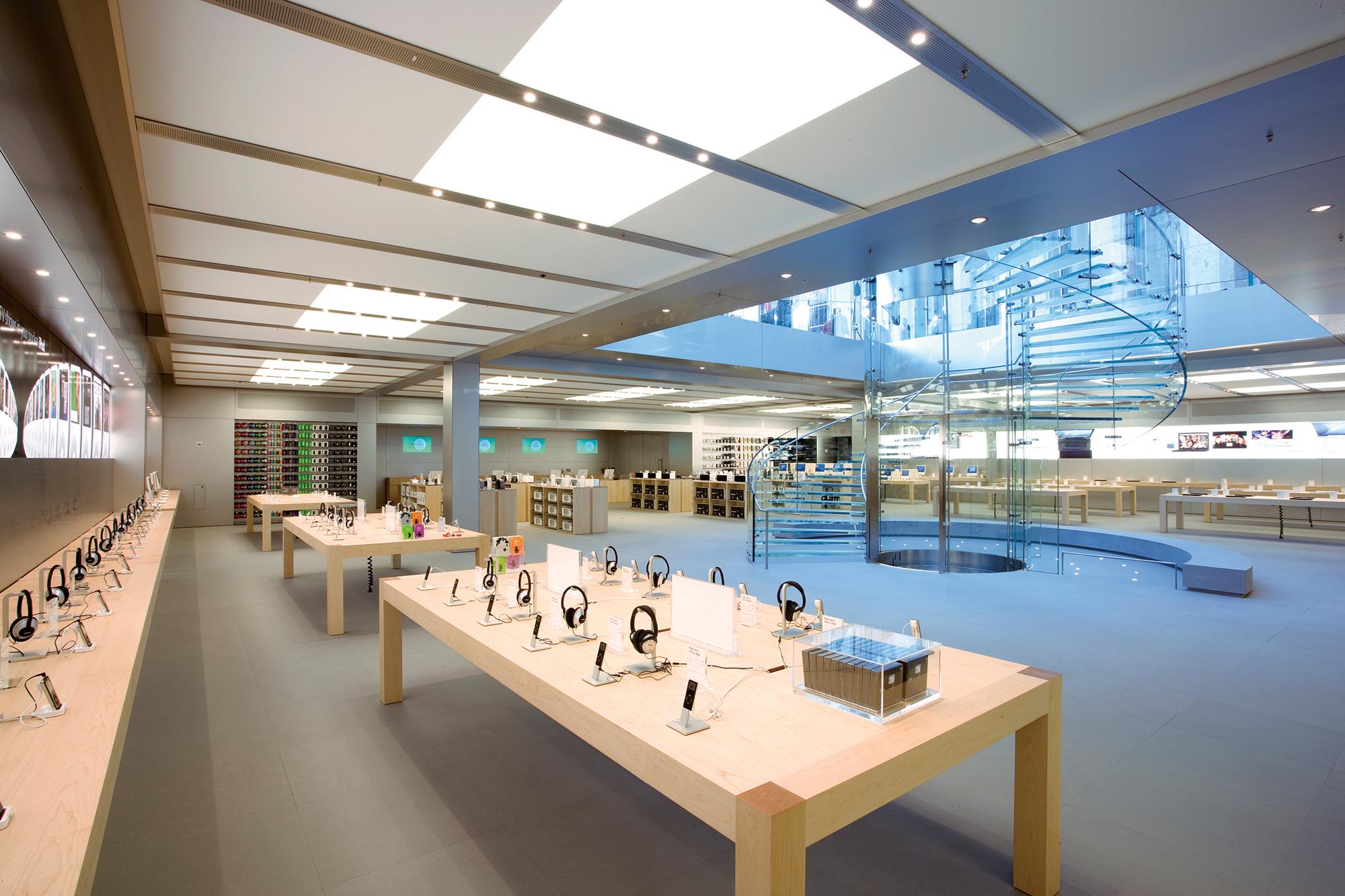 Apple Store Fifth Avenue Interior 小売店のデザイン, ストアデザイン, Pc 壁紙