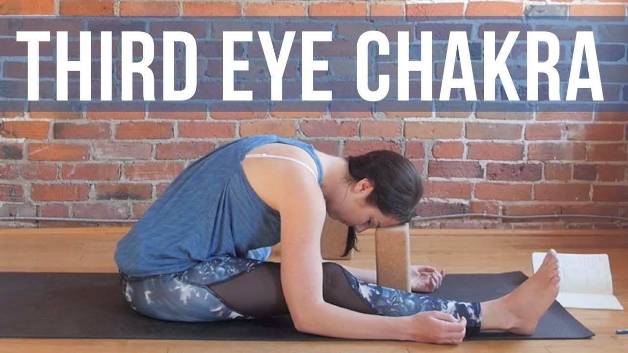 Third Eye Chakra Yin Yoga for Intuition and Insight {30 min