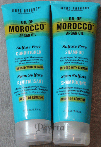 Marc Anthony Oil of Morocco Argan Oil Products Review. Click through to read!