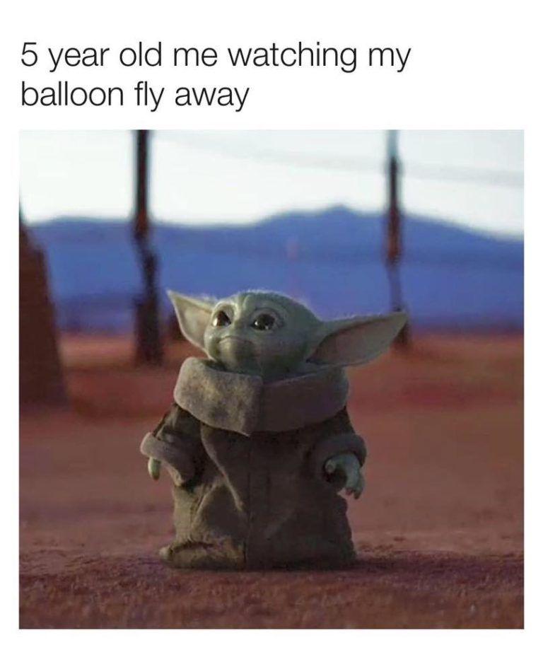 30 Baby Yoda Memes The Cutest Part Of The Mandalorian Really Funny Memes Cute Memes Yoda Funny