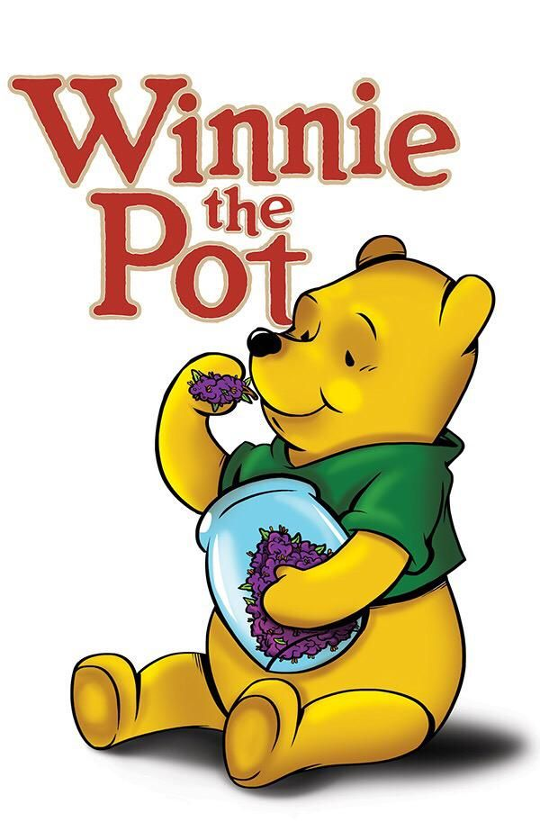Winey the poo on drugs