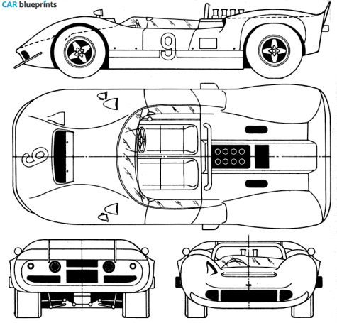 1967 mclaren mk ii ow blueprint blueprint pinterest cars mclaren mk ii blueprints vector drawings clipart and pdf templates malvernweather Image collections