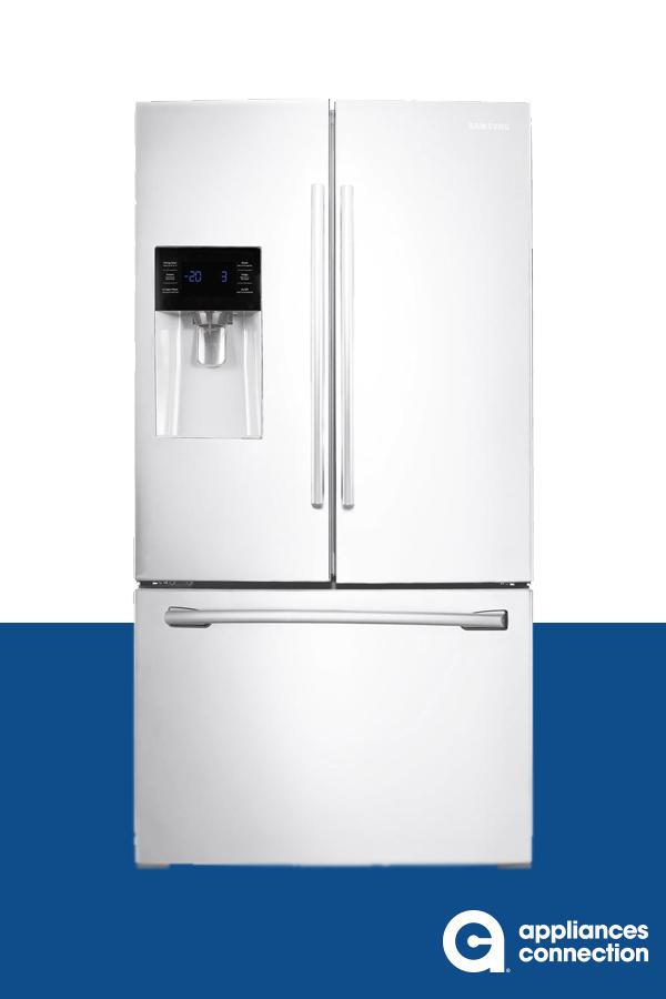 36 Inch Freestanding French Door Refrigerator With 24 6 Cu Ft