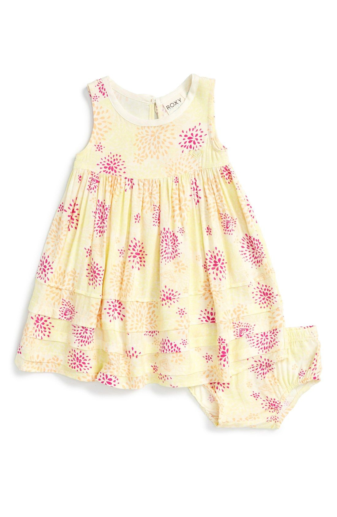 Roxy 'Winter Break' Sleeveless Dress (Baby Girls)