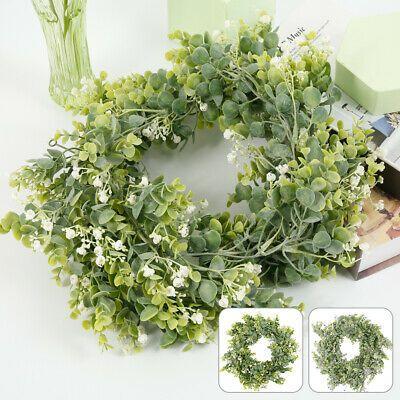 Photo of Künstliche Girlande Gefälschter Eukalyptuskranz Grünes Blatt Weinpflanze Laub Dekor   Ebay