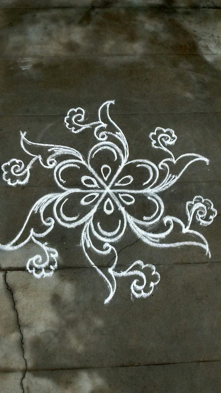 Pin by VENNILA VENKATACHALAPATHY on Kolam Small rangoli