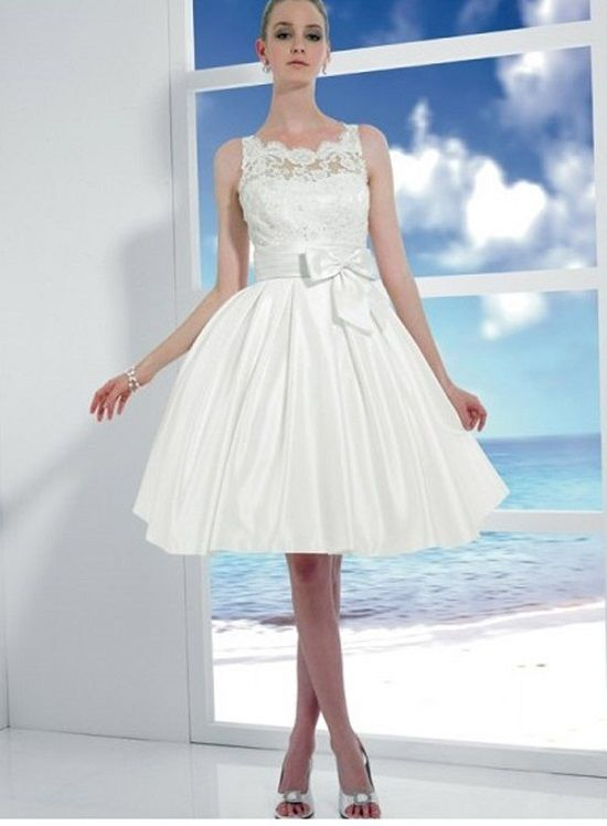 Simple Short Wedding Dresses With Sash Women Dress Ideas Ruffles