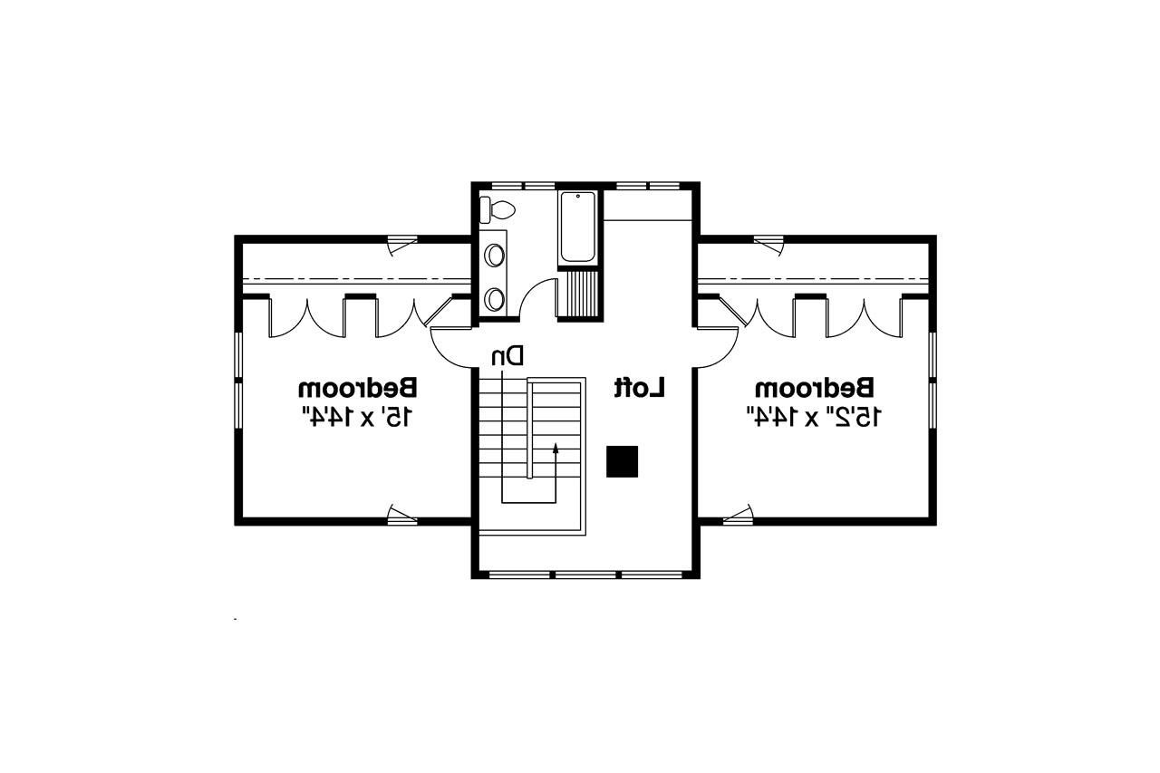 bungalow house plan dorset 30 454 2nd floor plan - Simple House Design With Second Floor