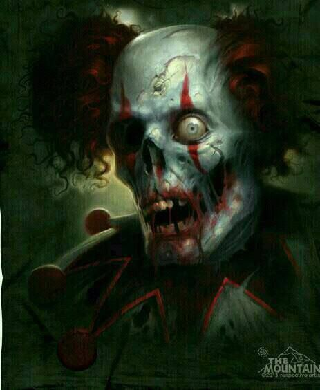 New Zombie Clown T Shirt 10 31 Gore More Pinterest Creepy